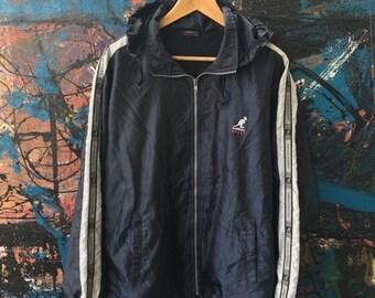20 Vintage KANGOL Sport England The United Kingdom Oasis Mods punk indie casuals Windbreaker Track Trainer Hoodie Parka Bomber Jacket