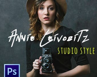 Annie Leibovitz Studio Style - Photoshop CC Action