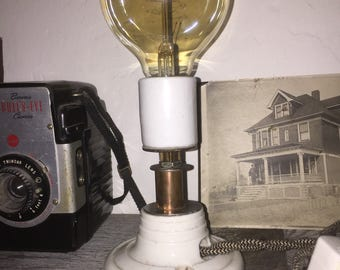 Steam-punk vintage Industrail  lamp