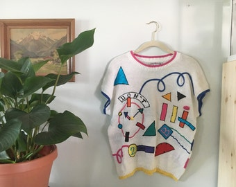 Sweater Tee // Knit // Cherry Stix