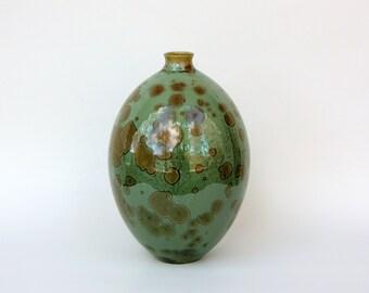 Emerald Bottle Vase