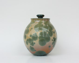 Small Nickel Crystalline Cremation Urn