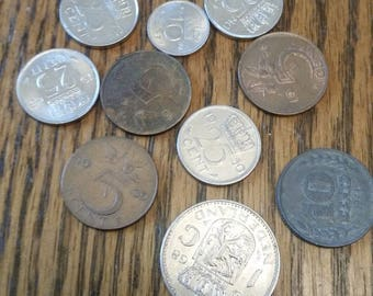 Netherlands Lot of 10 ALL DIFFERENT.  *002MAY16