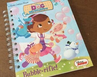 2017-18 Academic Calendar Year Planner Doc McStuffins Bubble-rific Little Golden Book OR Other LGB