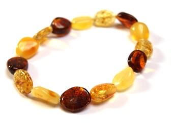 Elegant Baltic Amber Bracelet