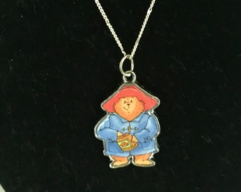 Paddington Bear Charm Necklace
