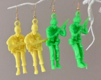 Toy Soldier Earrings