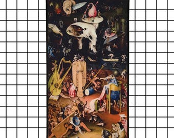 Hieronymus Bosch The Garden of Earthly Delights Hell Back Patch Jenni's Prints Paintings Surrealism Fantasy Art