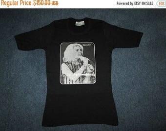 35% OFF Vintage 1970s BLONDIE Debbie Harry Promo Tour T-shirt Original