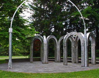 Toledo Botanical Garden Arches (FREE SHIPPING in the U.S. only)
