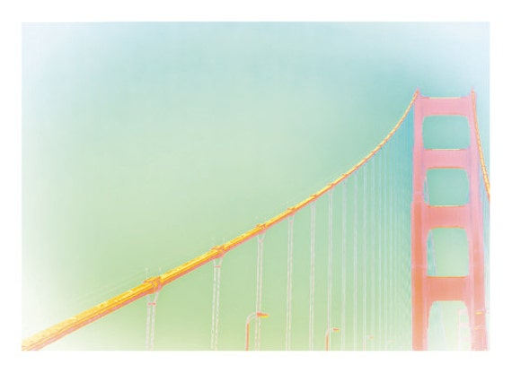 Golden Gate Bridge Abstract Fine Art Photography