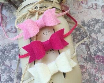Baby Headband Set. Baby Headbands. Infant Gift Set. Tiny Bow Headbands. Felt Headbands. Trending Now. Valentine's Day. Baby Headband