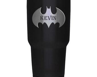 30 oz tumbler, Groomsmen Batman Gift, groomsman  personalized groomsman,bestman