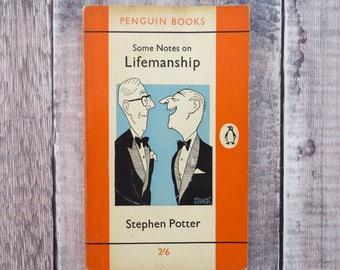 Some Notes on Lifemanship Penguin Classic Book - Stephen Potter - Penguin Books - Literature Gift for Book Lover