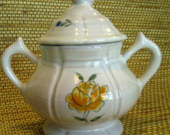 Henriot Quimper Sugar Bowl