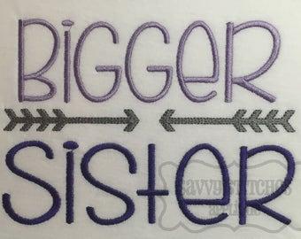 Bigger Sister Machine Embroidery Design