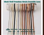"Deerskin Premium Grade Lace  1/8"" (3mm) Wide x 40"" Long.  17 Total Feet. Deerskin Lace, Deerskin, Deer, Leather, Lace,  Supplies, Crafts"