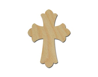 """Unfinished Wood Cross 17.5 x 24"""" Wooden Craft Crosses Artistic Craft Supply"""