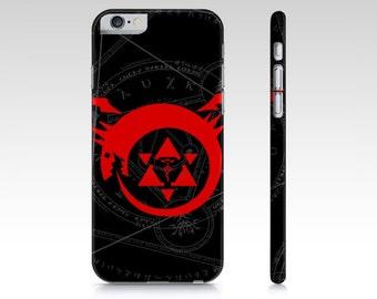 Full Metal Alchemist phone case for your iphone 5/5s, iphone 6/6s, iphone 7 and iphone 7 plus