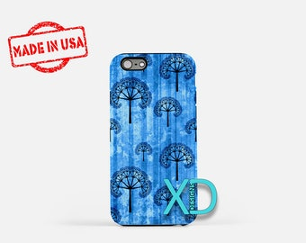 Artistic Tree Design iPhone Case, Tree iPhone Case, Tree iPhone 8 Case, iPhone 6s Case, iPhone 7 Case, Phone Case, iPhone X Case, SE Case