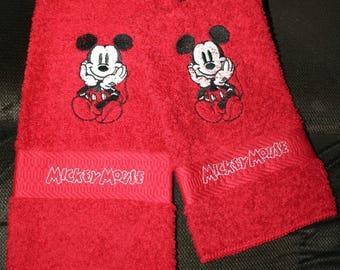 Disney dish towel | Etsy