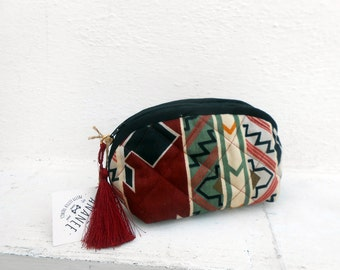 Kilim Make Up Bag,Quilted bag ,Cosmetic Bag,Gift idea