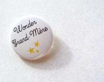 Badge 'Wonder Grandma'