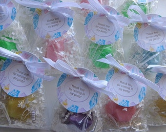 20 Jewel Soap Favors, BirthStones, Magical Gems, Birthday Parties, Special Occasion Favors