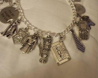 Supernatural inspired 'Castiel's Conviction' bracelet