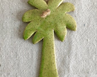 Ceramic Palm Tree Ornament