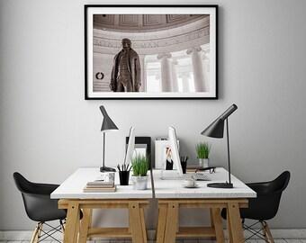 Jefferson Memorial photography/Washington DC Photography/Washington DC poster/Large wall art/ Washington DC print
