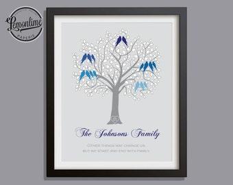 Custom Family Tree Gift, Grandparents Gift, Custom Family Tree Gift, Anniversary Gift, Christmas Gift, Custom Family Gift, Grandparents 028