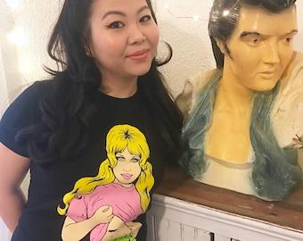 Toxic babe women's t-shirt