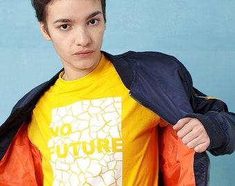 No Future - Climate Change Graphic Political T-shirt - ALLRIOT