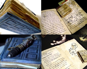 Doctor Who River Song Diary Prop Replica Fully Illustrated