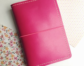 Decorative stitching add-on for Traveler's Notebook leather covers -  All sizes