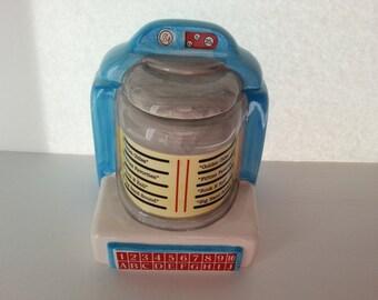 Oggi Corporation - American Diner Collection - Juke Box Cookie Jar - 1993