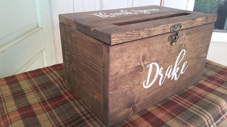 Extra large Wedding Card Box Large Card Box Rustic Wedding – Large Wedding Card Box