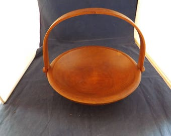 Genuine Woodcroftery Wooden Bowl with Handle