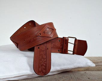 LEATHER BELT WOMEN - wide leather women belt, metal buckle, classic womens fashion, country women lady's, cowboy women accessory