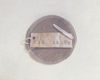 Wool Nursing Pads // 'Deer' Merino Wool Re-Usable Nursing Pads
