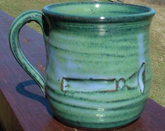 French Horn Mouthpiece Impression Mug