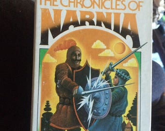 Vintage Chronicles of Narnia set
