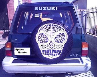 PDF Sugar Skull Spare Tire Cover