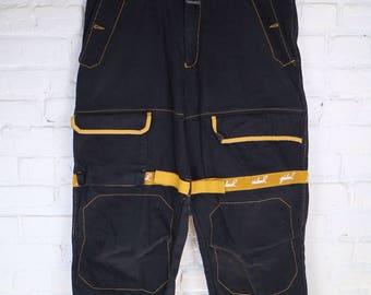 90's Vintage Marithe Francois Girbaud Jeans.  Rap hiphop funky rad denim size 36