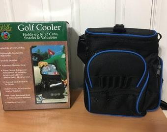 Golf cooler mini golf bag Mint