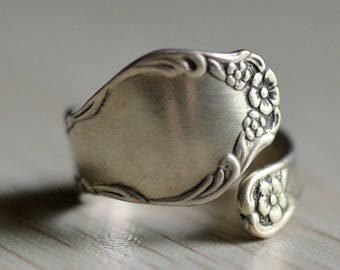 Spoon Ring Oneida Sterling Size 6.5