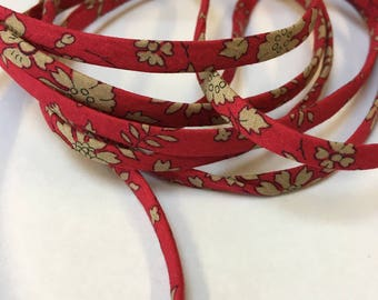Long Rasberry Red Liberty Necklace