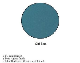 Heat Transfer Vinyl ~ old blue