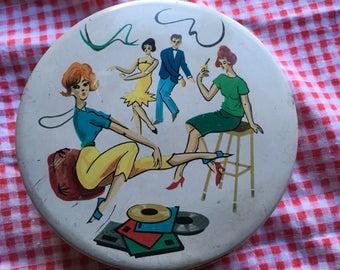 Swinging Sixties Riley's Toffee Tin